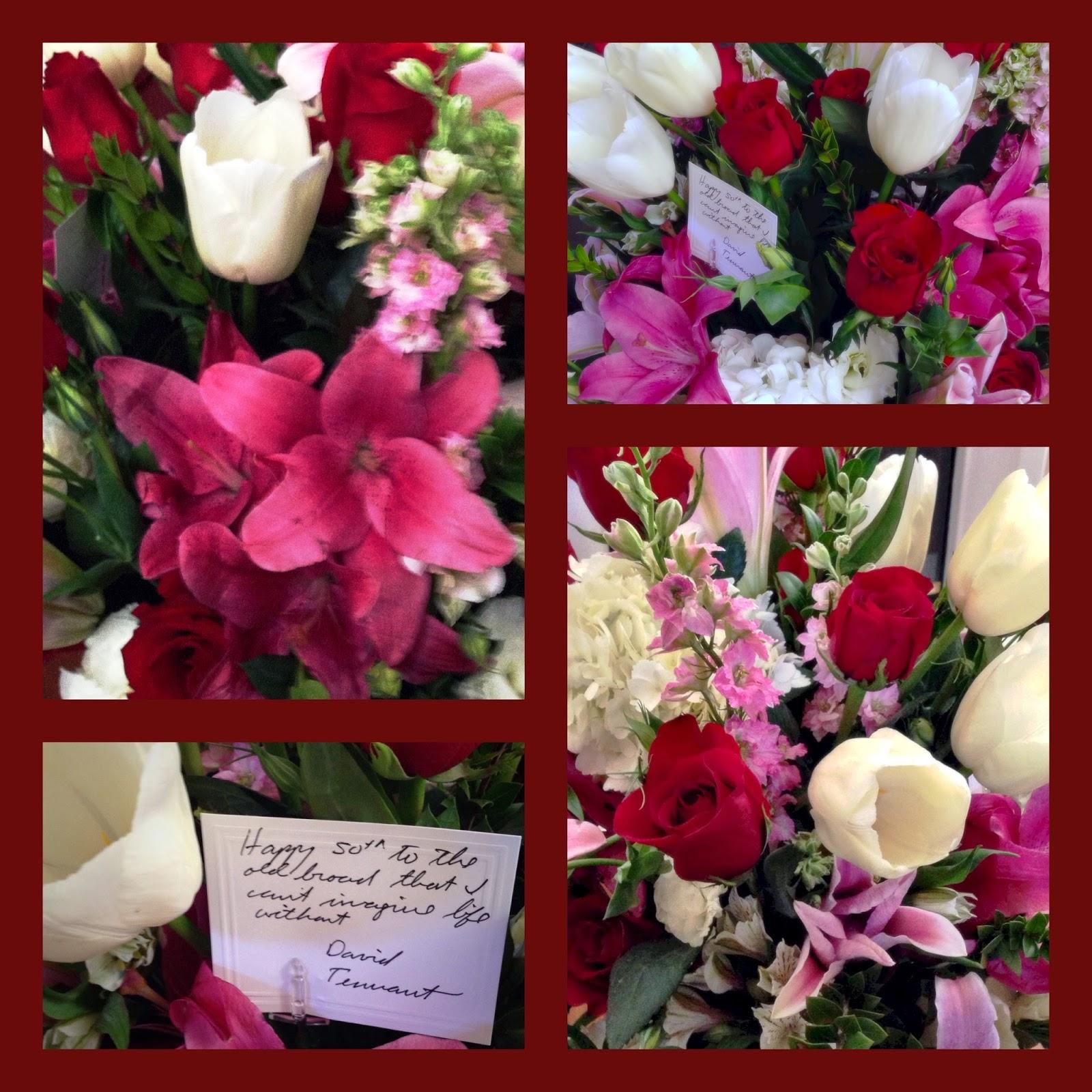 birthday flower collage