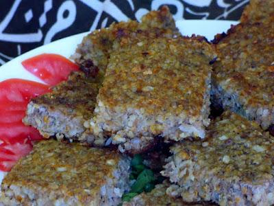 Kofta Bulgur Ofen Rezept Ägyptische Ägypten Hackfleisch