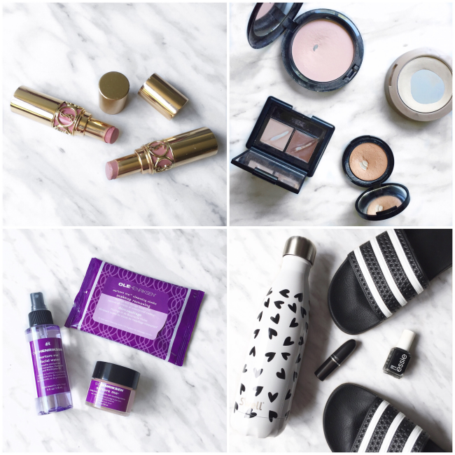 bbloggers, bbloggersca, canadian beauty bloggers, lbloggers, instamonth, hitting pan, ysl rouge volupte, ole henriksen nurture me, adidas, swell bottle