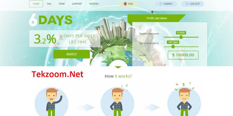 [SCAM] Review 6Days Me - Một site đầu tư hấp dẫn với lãi suất 3.2% hằng ngày mãi mãi - Đầu tư tối thiểu 10$ - Thanh toán Instant