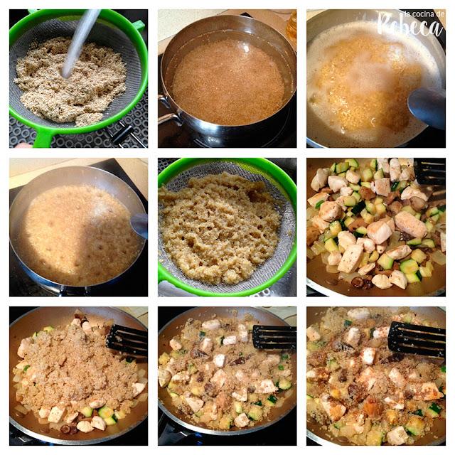 Receta de salteado de quinoa con salsa de soja 03