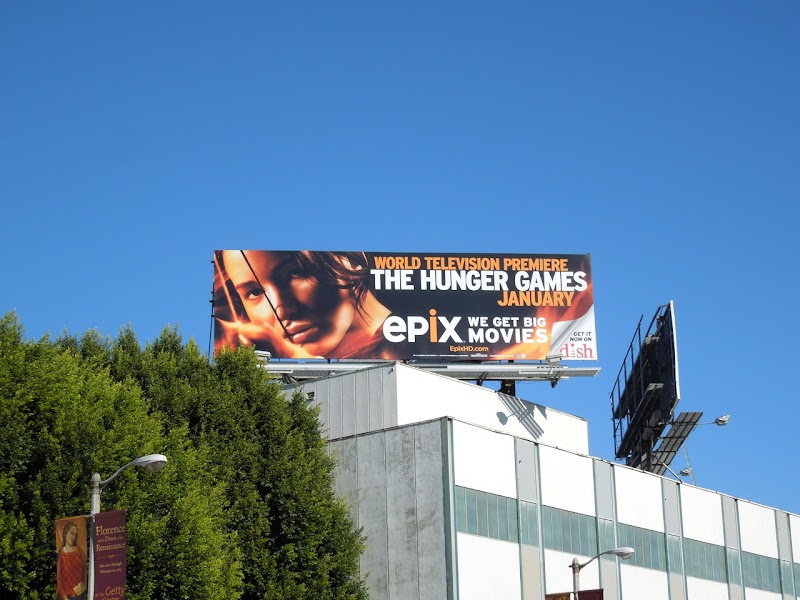 Hunger Games Epix billboard