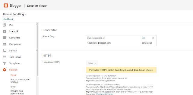 Pengaruh Mengganti Blogspot Ke TLD