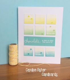 """Chocolate is best on day that end in """"y"""" by Candice features Chocolate & Love by Newton's Nook Designs; #newtonsnook"""