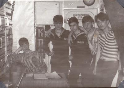 """ст. матрос Золотуский, БЧ-4, РКР """"Вице-адмирал Дрозд"""", 1989 год"""