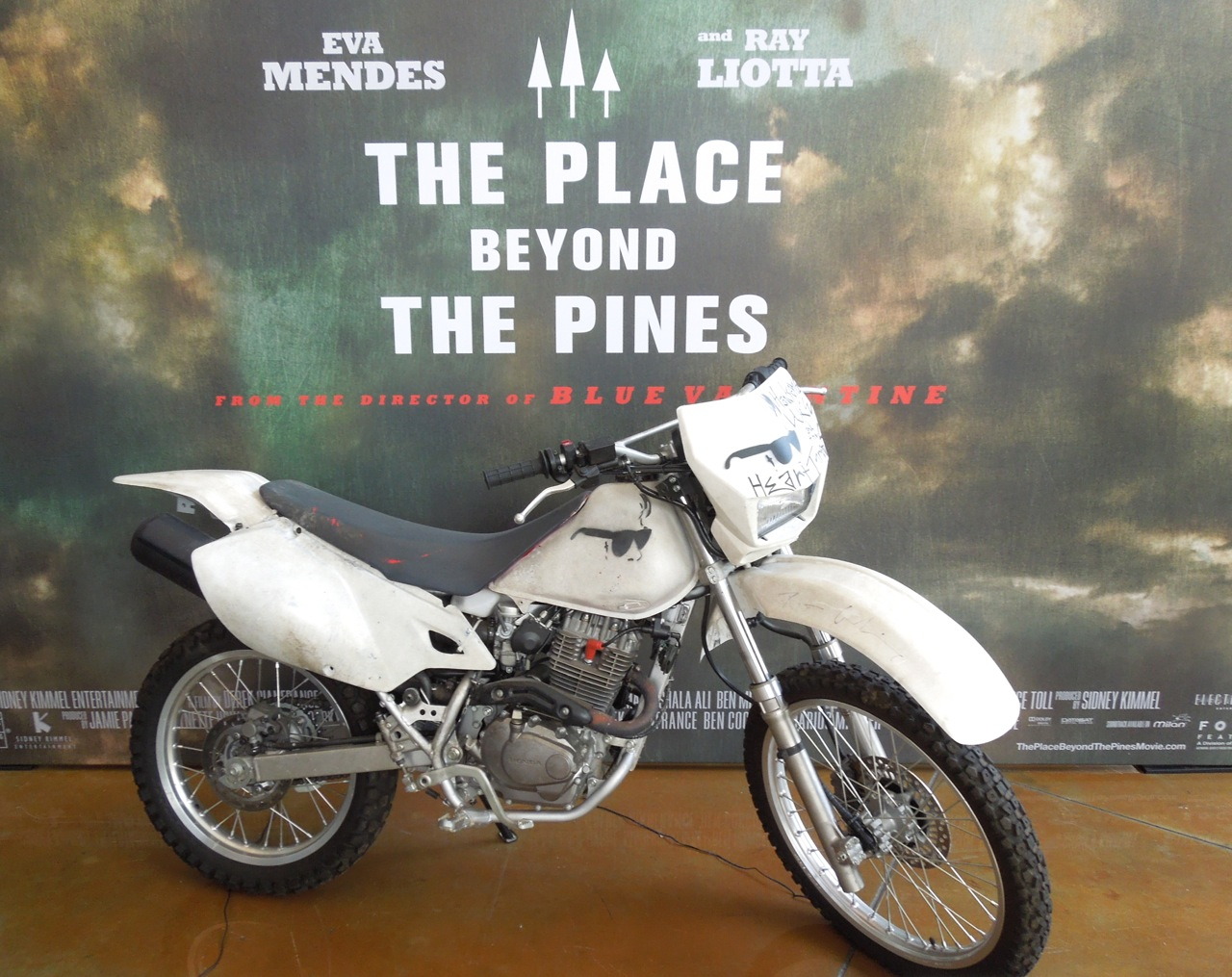 Honda Motorcycle Used In The Place Beyond The Pines