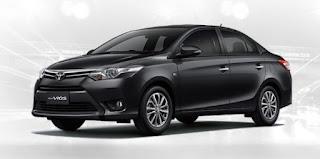 Harga Toyota Vios di Pontianak Black Mica
