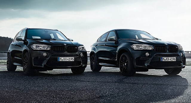 BMW Unveils New X5 M And X6 M Black Fire Editions