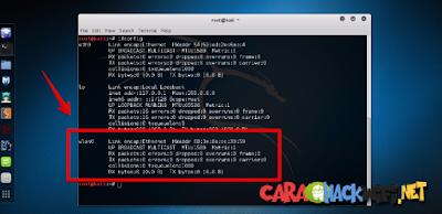 Cara Melihat Nama Wireless Adapter di Kali linux