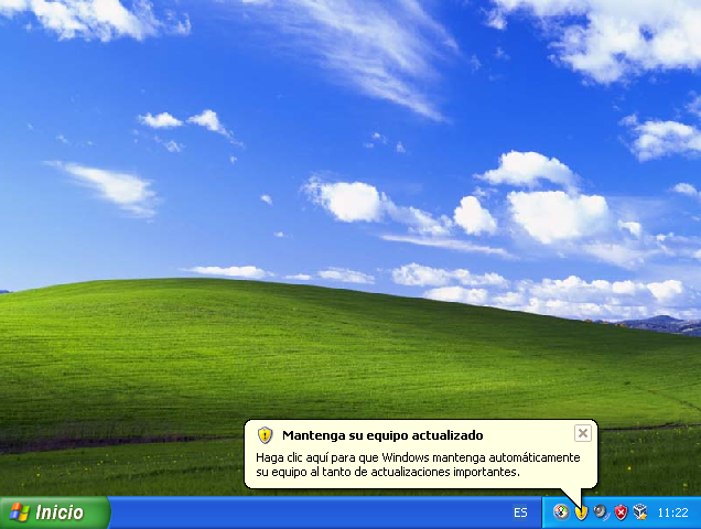 seguridad en windows xp professional