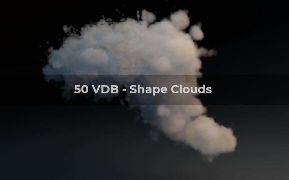 silvestre julien: VDB Clouds packs : 500 vdb + 250 exr