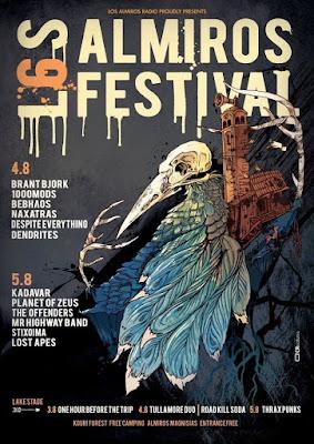 6th Los Almiros Festival poster