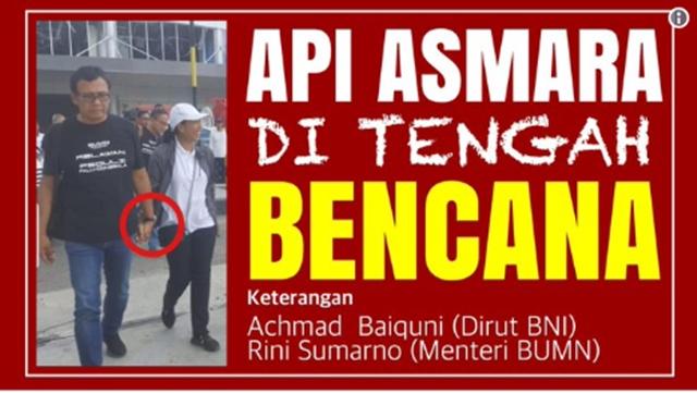 Rini Soemarno dan Achmad Baiquni, Menteri dan Dirut Kasmaran?