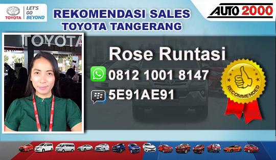 Rekomendasi Sales Toyota Karawaci Tangerang