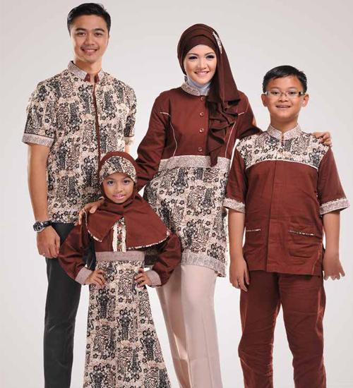 baju sarimbit keluarga modern