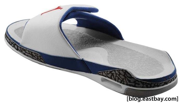 e3ff03fd3 BLAST OFF  Jordan Retro 3 Slide True Blue