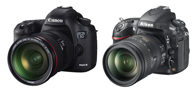 Canon 5D Mark III appareil photo vs Nikon D800 appareil photo