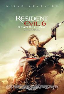 Baixar Resident Evil 6: O Capítulo Final Dublado Torrent
