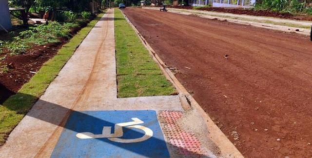 Apesar da crise nos municípios, em Roncador o trabalho não para!