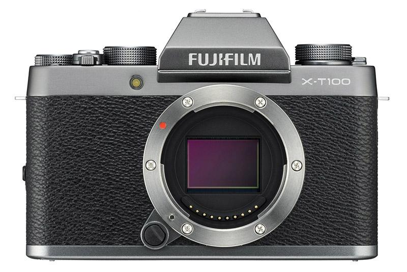Fujhifilm X-T100 mirror less camera