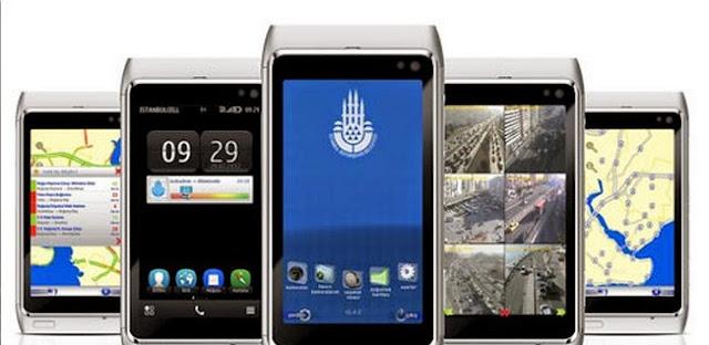windows phone ibb cep trafik uygulaması