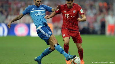 Ver Bayern Munich vs Hamburgo EN VIVO Online Gratis 2017