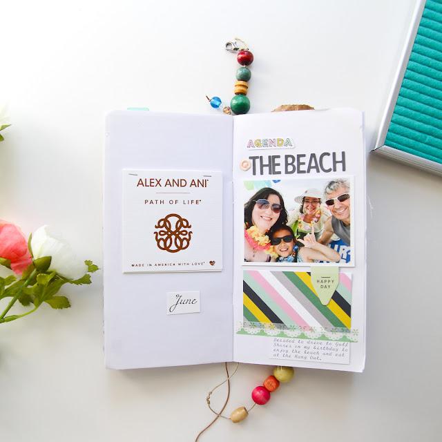 Patricia Roebuck, Travelers Notebook, TN, Modern Memory Keeping, Memory Keeping