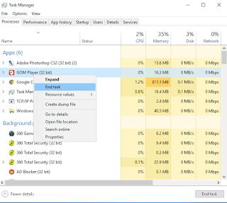 Cara Membuat Script Auto End Task di Windows