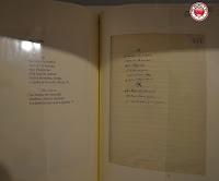 Versos originales de Machado en el Casino Círculo Amistad Numancia, Soria