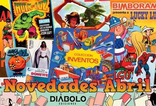 Novedades de Diábolo Ediciones para Abril de 2017