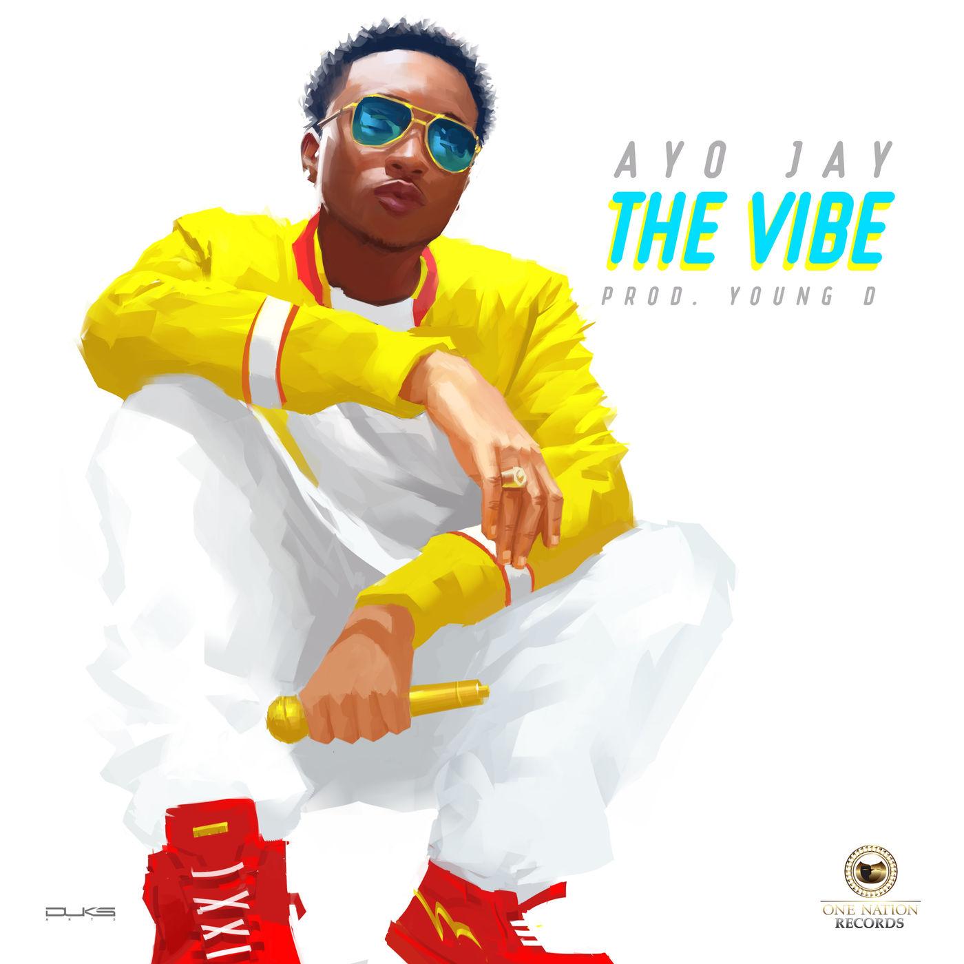 Ayo Jay - The Vibe - Single Cover