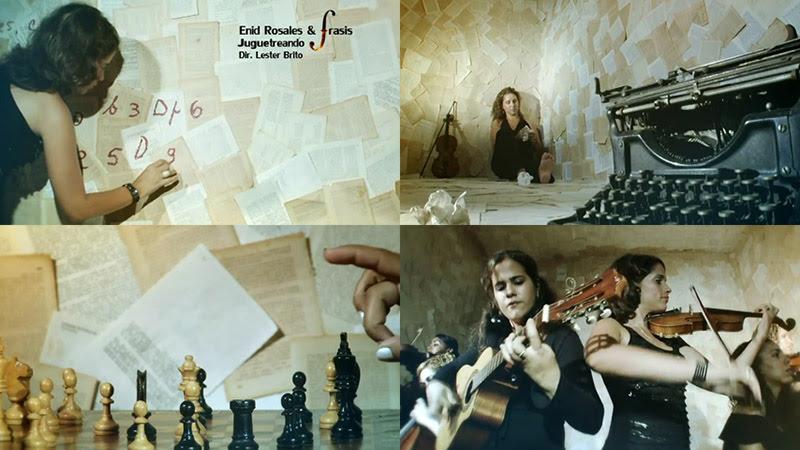 Enid Rosales & FRASIS - ¨Juguetreando¨ - Videoclip - Dirección: Lester Brito. Portal Del Vídeo Clip Cubano
