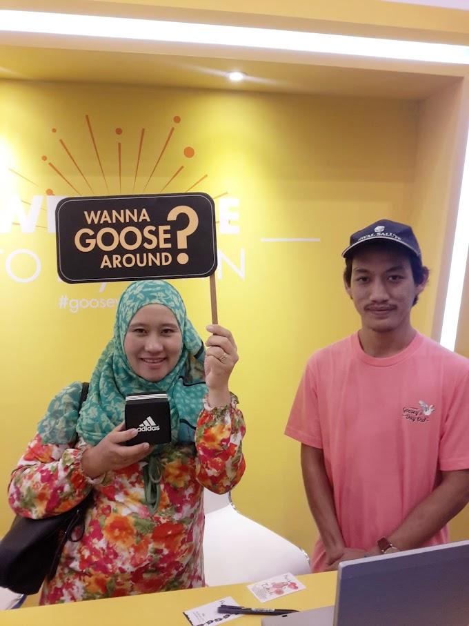 MENANG JAM TANGAN ADIDAS - GOOSEY SELFIE DARI MYTOWNKL