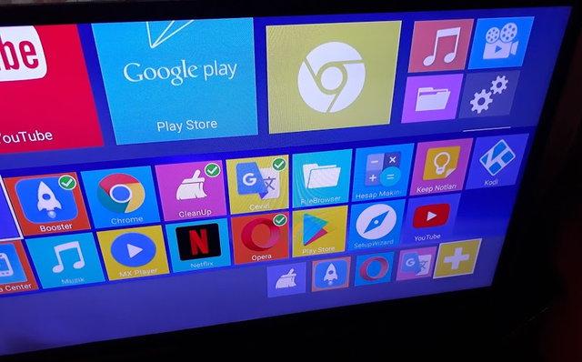 Android tv kullanım seçenekleri