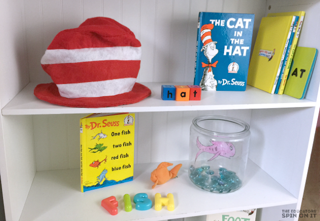 Dr Seuss inspired Activities for Read Across America playdate afterschool