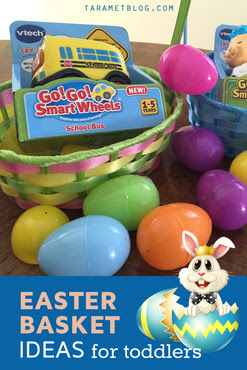 Easy Easter Basket Ideas & Easter Egg Fillers for Toddlers and Preschoolers