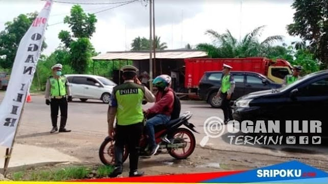 Razia Zebra Ogan Ilir 2018, 500 Pengendara Nakal Ditilang Satlantas Polres OI