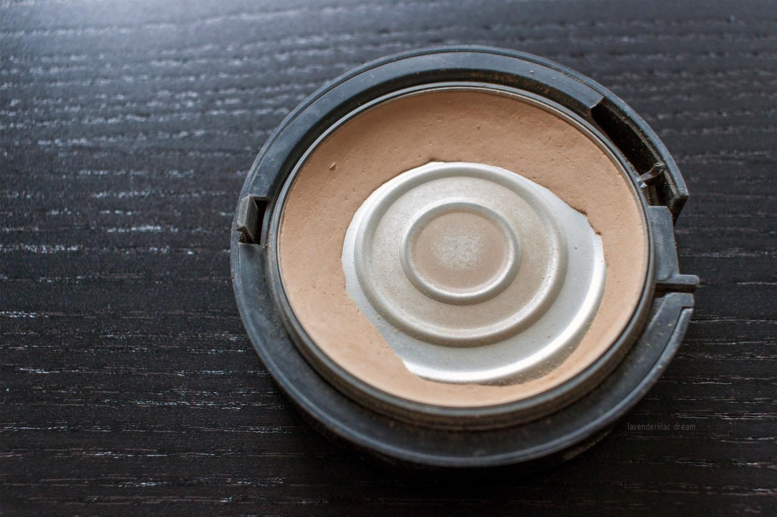 Mark Powder Buff Natural Skin Foundation, Project Make a Dent half way results