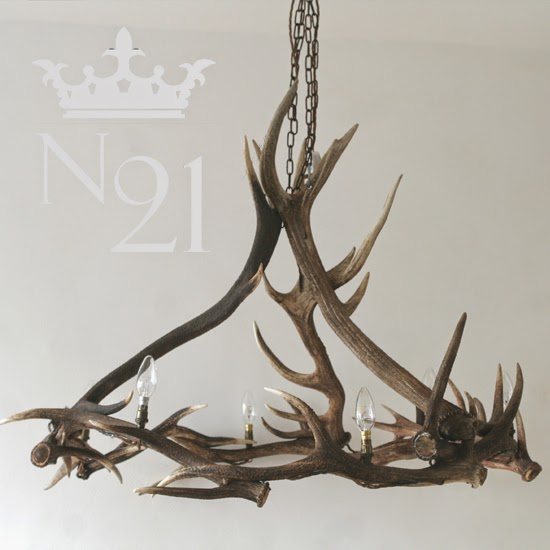 No21 MAKE ANTLER CHANDELIERS