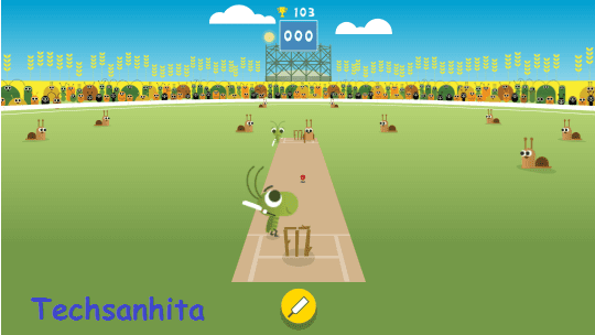 Google search games -Cricket