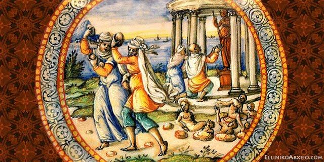 Ο Κατακλυσμός του Δευκαλίωνα...