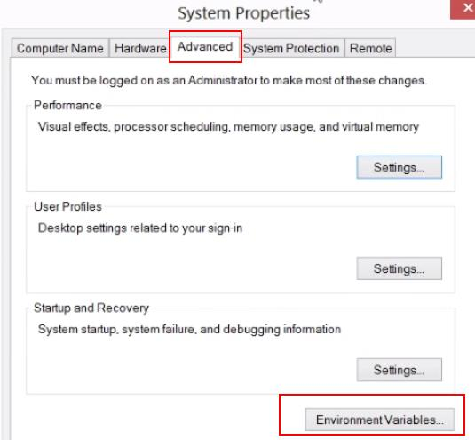 How to set Classpath in Windows 7 operating system