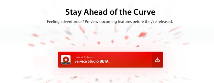 Service Studio Beta