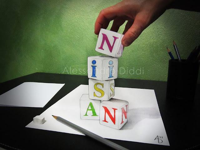 ilusi gambar 3 dimensi yang keren dan menakjubkan serta kreatif-17