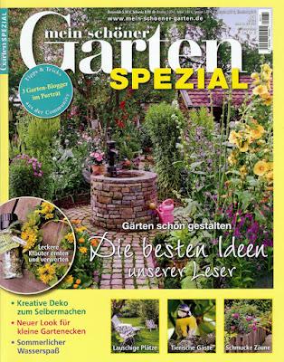 Garden: kanaldeckel im garten verschönern