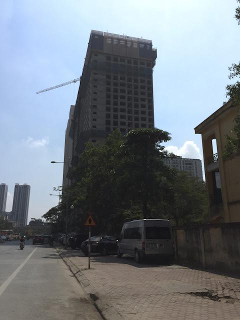 Tiến độ tòa CT-07 chung cư Booyoung Vina