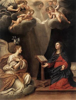 Imagens da Anunciação do Anjo a Virgem Maria, pinturas, vitrais, ícones