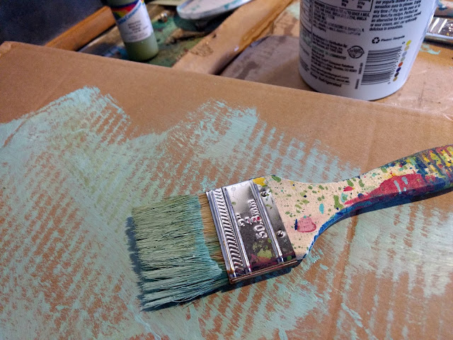 Wipe off Excess Paint so Colors do Not Get Muddied