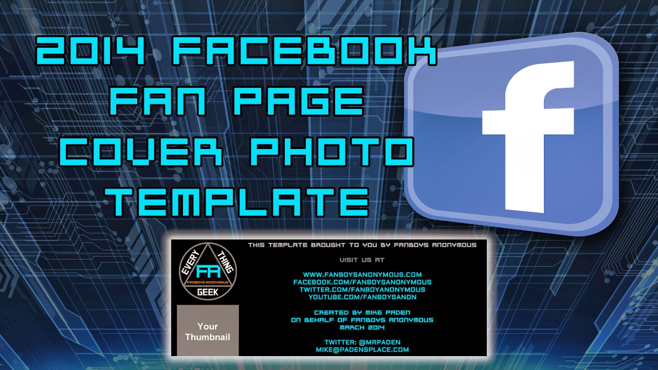How to make a new Facebook Cover Photo 2014 Tutorial Guide