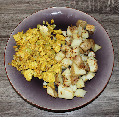 Tofu Scramble & Potatoes